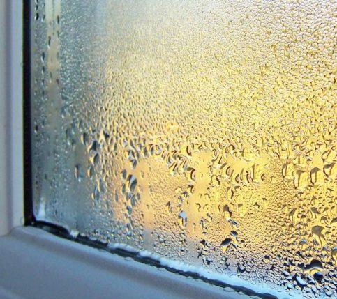 Конденсат на вікні